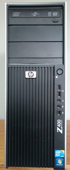 HP Z400 Xeon W3520 6GB 500GB Quadro Fx380 Windows 8.1 PL