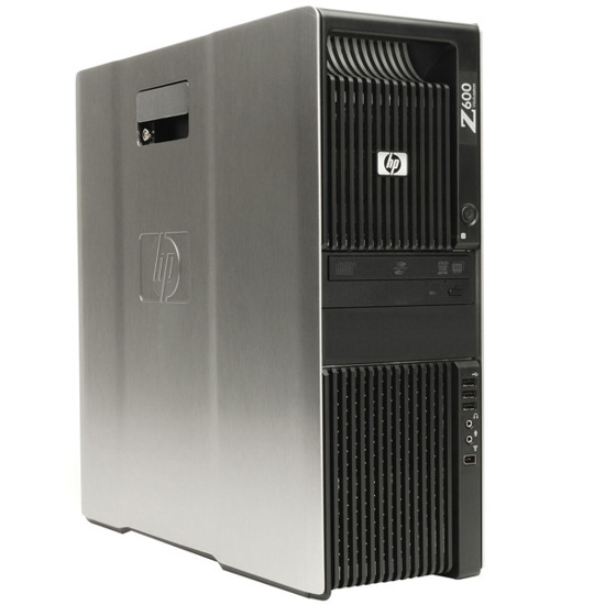 HP Z600 QUAD E5530 4x2.4GHz/6GB/500GB WIn 7 pro
