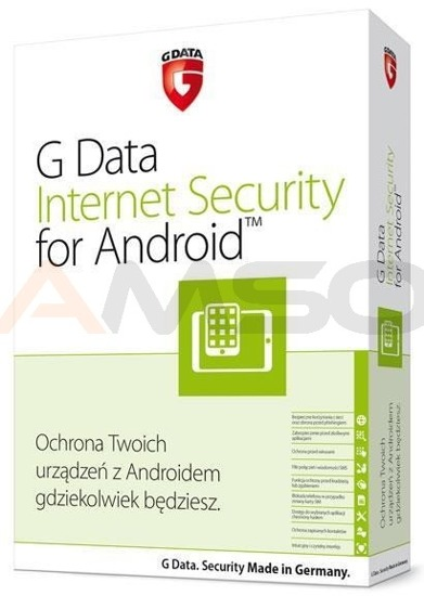 InternetSecurity for Android G Data 1DEV 1ROK