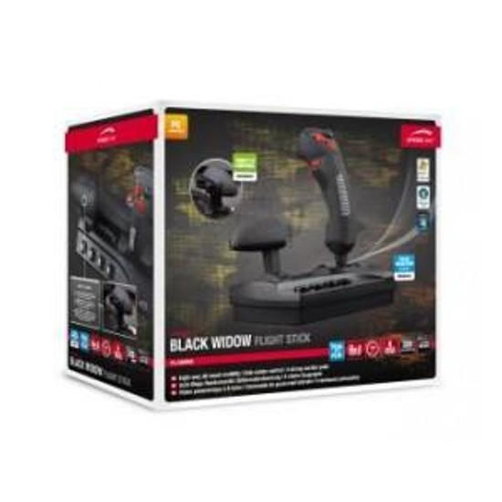 Joystick Speedlink BLACK WIDOW Flightstick, black