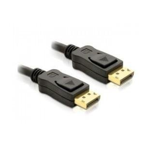 KABEL DISPLAYPORT M/M 1M GOLD DELOCK
