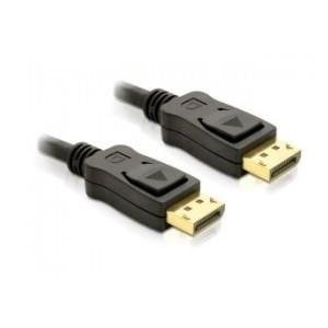 KABEL DISPLAYPORT M/M 2M GOLD DELOCK