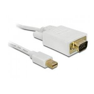 KABEL DISPLAYPORT MINI(M)->VGA (M) 1M DELOCK
