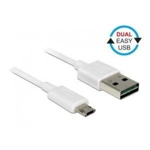 Kabel USB Delock micro AM-BM USB 2.0 Dual Easy-USB 0.5m