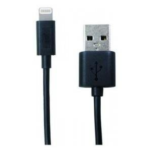 Kabel USB - lightning PQI 180cm, czarny iPhone, iPad