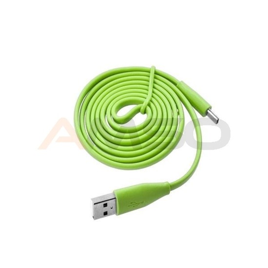 Kabel micro USB e5 zielony 1m do smartfona/tabletu
