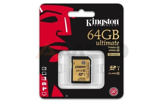 Karta pamięci SDHC UHS-I Ultimate KINGSTON 64GB