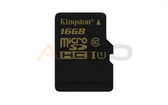 Karta pamięci microSDHC CL10 UHS-I 90R/45W  KINGSTON 16GB