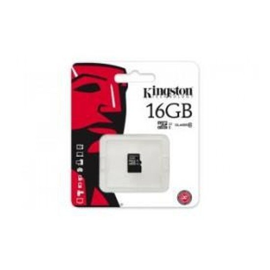 Karta pamięci microSDHC KINGSTON 16GB Class 10