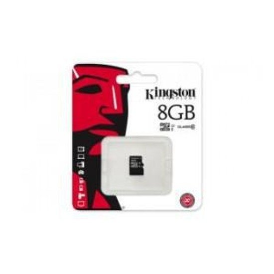 Karta pamięci microSDHC KINGSTON 8GB Class 10