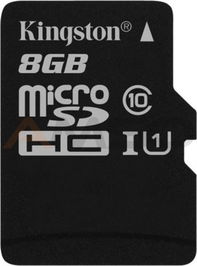 Karta pamięci microSDHC KINGSTON 8GB Class 10 UHS-I