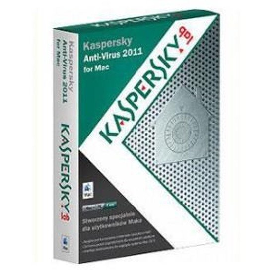 Kaspersky Anti-Virus for Mac 2011 1 user 12 m BOX