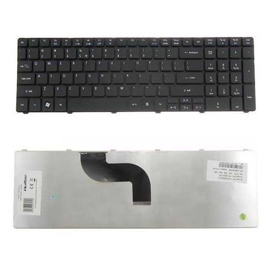 Klawiatura Qoltec do noteb. Acer 5810t Black