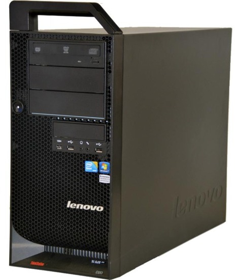 Lenovo D20 X5570 QC 2,9/12GB/500/FX4800 WIN 8.1