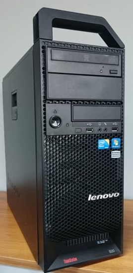 Lenovo S20 W3580 4x 3,33GHz 16GB 240GB SSD Quadro 2000 Windows 7 Professional PL