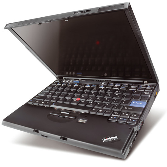 "Lenovo X61 C2D T7300 2.0GHz 2GB 120GB 12,1"" Windows 7 Home Premium"