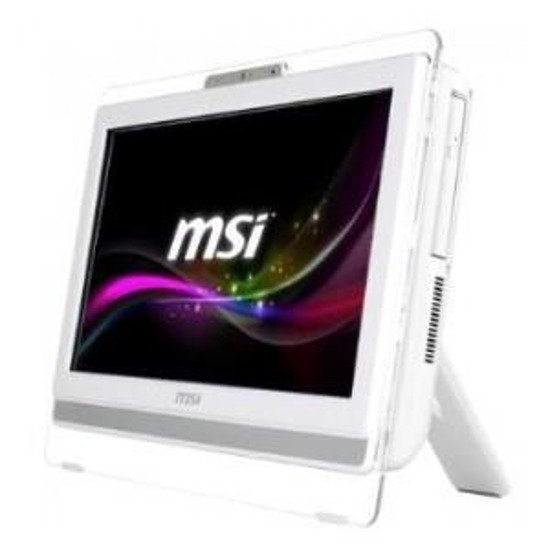 "MSI Wind Top AE 19,5""/E2-3800/4GB/500GB/HD8280/W81B White"