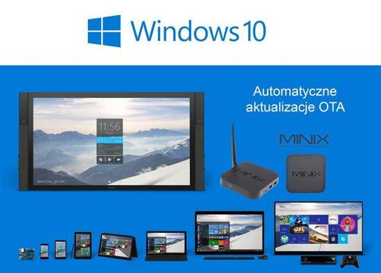 Mini PC Minix NEO Z64 (2GB RAM, FullHD, Windows 10, 32GB eMMC)