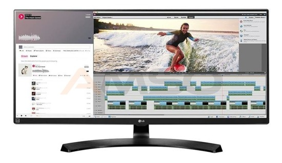 "Monitor LCD LG 34"" LED IPS 34UM88C-P HDMIx2, DP"