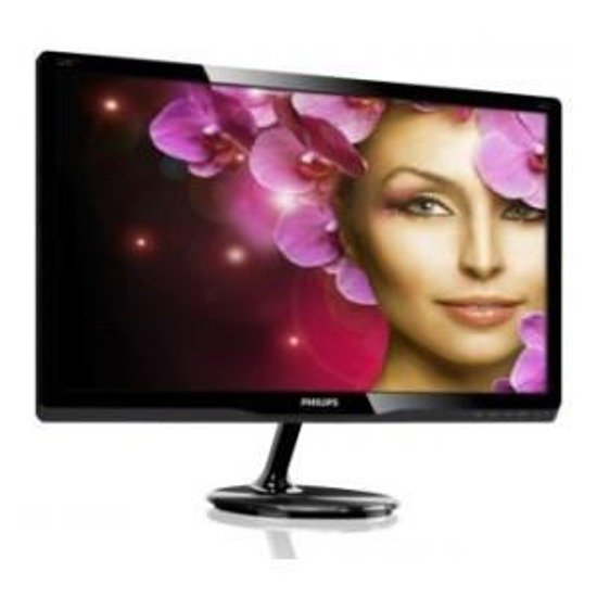 "Monitor LCD Philips 21,5"" LED 227E4LHAB/00 HDMI głośniki"
