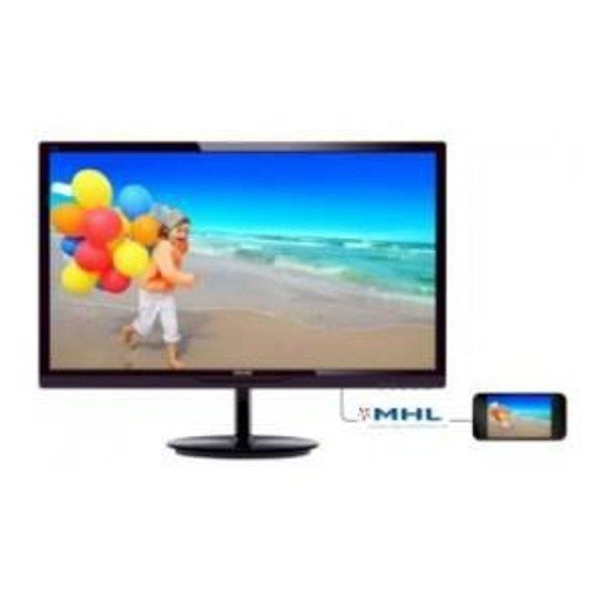 "Monitor LCD Philips 23,8"" LED IPS 244E5QHAD/00 HDMI głośniki"