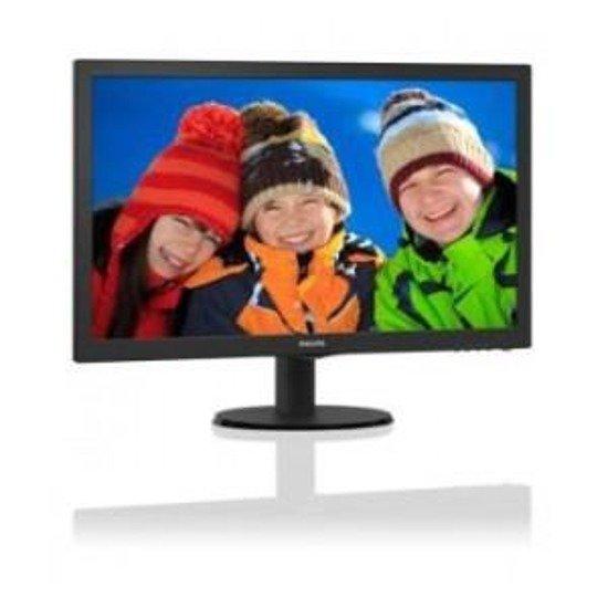 "Monitor LCD Philips 23"" LED 233V5QHABP/00  HDMI głośniki"