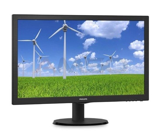 "Monitor Philips 21,5"" 223S5LSB/00 VGA DVI"
