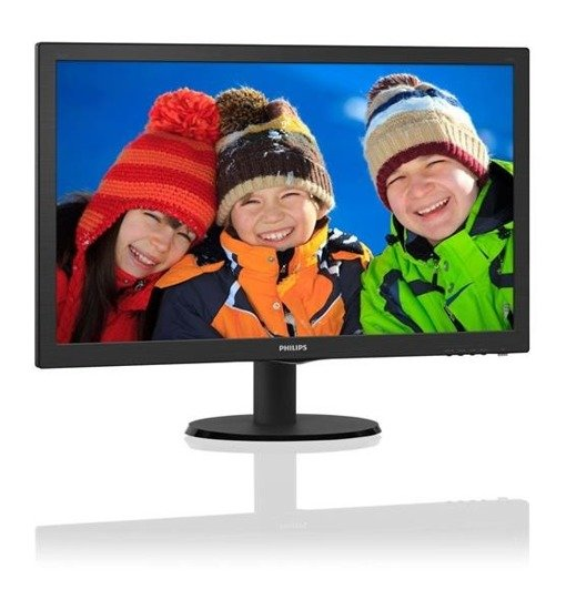 "Monitor Philips 23,6"" 243V5LSB/00 DVI"