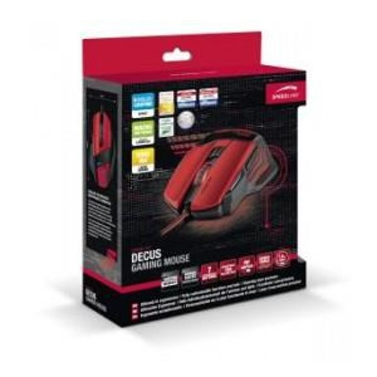 Mysz Speedlink DECUS Gaming Mouse, black