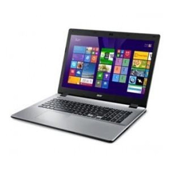 "Notebook Acer Aspire E5-771G 17,3""/i5-5200U/4GB/1TB/GT820M-2GB/W81"