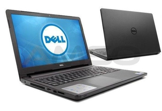 "Notebook Dell Inspiron 15 5559 15,6""HD/i7-6500U/8GB/1TB/R5 M335-4GB/W10 czarny matowy"