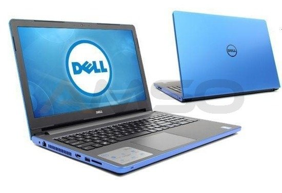"Notebook Dell Inspiron 15 5559 15,6""HD/i7-6500U/8GB/1TB/R5 M335-4GB/W10 niebieski"