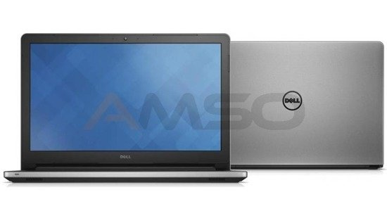 "Notebook Dell Inspiron 17 5758 17,3""HD+/i3-5005U/4GB/1TB/GT920M-2GB/ srebrny"