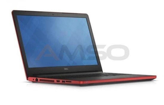 "Notebook Dell Inspiron 5558 15,6""HD/i3-5005U/4GB/1TB/GT920M-2GB/W10 czerwony"