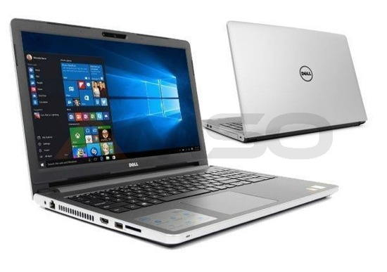 "Notebook Dell Inspiron 5558 15,6""HD/i3-5005U/4GB/1TB/iHD5500/ srebrny"