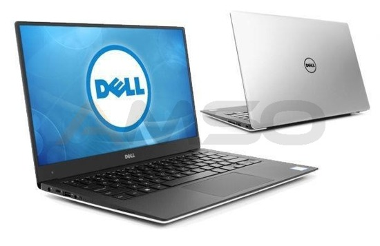 "Notebook Dell XPS 13 13,3""QHD+ touch/i7-6500U/16GB/SSD512GB/iHD520/W10 srebrny"