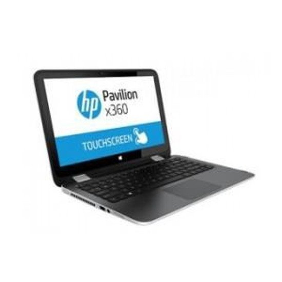 "Notebook HP Pavilion x360 13,3""touch/i3-5010U/4GB/500GB/iHD5500/W81"