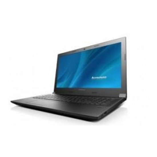 "Notebook Lenovo IdeaPad G50-80 15,6""/i3-4005U/4GB/1TB/iHDG/W81"