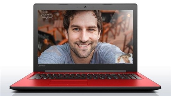 "Notebook Lenovo Ideapad 310-15 15,6""HD/i3-6100U/4GB/500GB/iHD520/W10 czerwony"