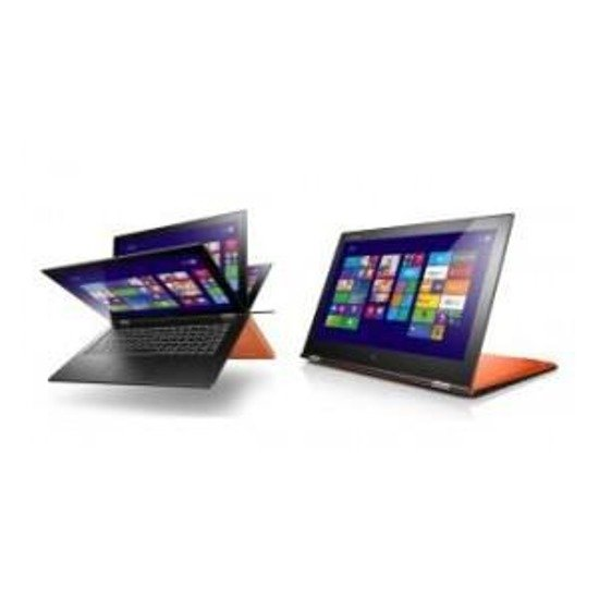 "Notebook Lenovo YOGA 2 PRO 13,3""Touch/i7-4510U/4GB/128SSD/iHDG/W81"
