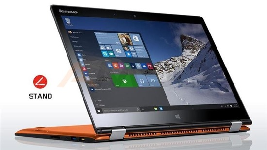 "Notebook Lenovo Yoga 700-14 14""FHDtouch/i7-6500U/8GB/SSD256GB/iHD520/W10 orange"