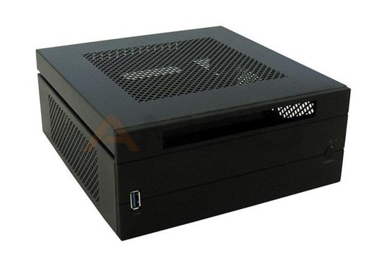 "Obudowa LC-POWER LC-1550mi Mini-ITX USB 3.0, 5.25"" Black"