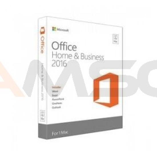 Office Home and Business 2016 English Medialess for Mac