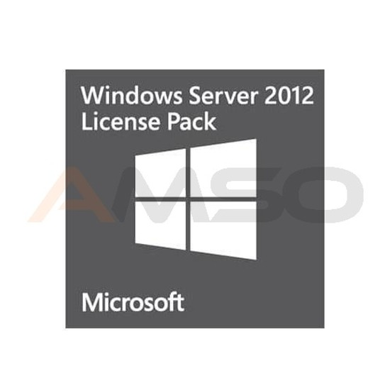 Oprogramowanie Windows Server 2012 CAL English 1pk DSP OEI 1 Clt User