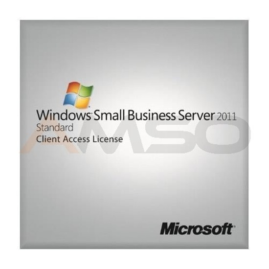 Oprogramowanie Windows Small Business Server 2011 Premium CAL 64Bit English 5 Clt User