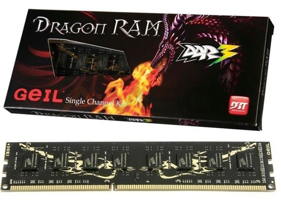 Pamięć DDR3 GEIL 8GB 1333MHZ DRAGON RAM CL.9 BOX