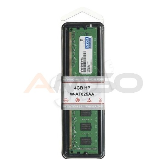 Pamięć DDR3 GOODRAM 4GB 1333MHz W-AT025AA do HP