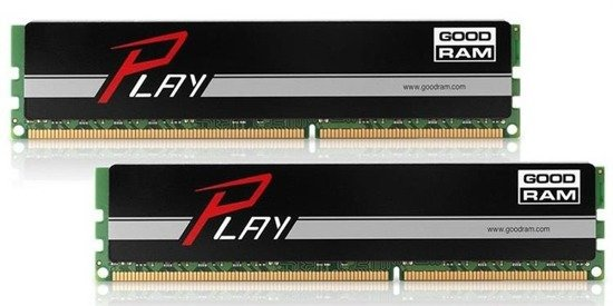Pamięć DDR3 GOODRAM PLAY 8GB (2x4GB) 1866MHz PC3-15000 9-11-9-28 BLACK 512x8