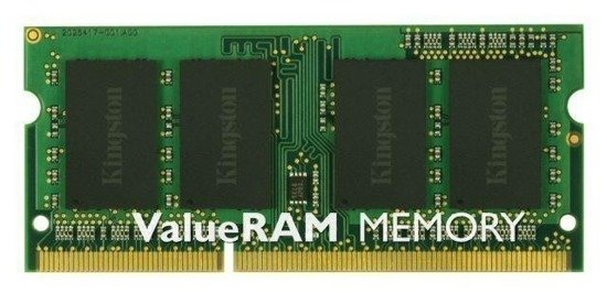 Pamięć DDR3 Kingston 4GB 1333MHz Non-ECC CL9 SODIMM SR X8