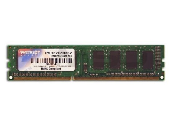 Pamięć DDR3 PATRIOT 4GB/1333MHz 512x8 SIGNATURE LINE CL.9
